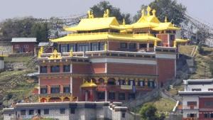 Thrangu Tashi Yangtse Monastery at Namo Buddha, Nepal -khoryug.com