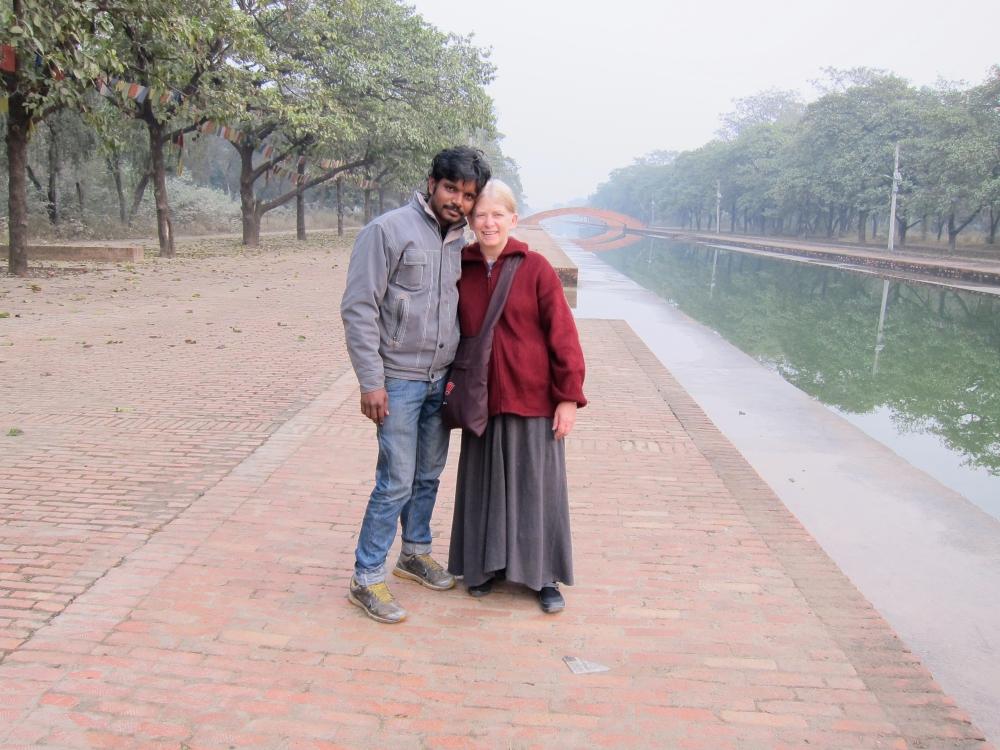 BLOGBola and Susan Thompson, Lumbini