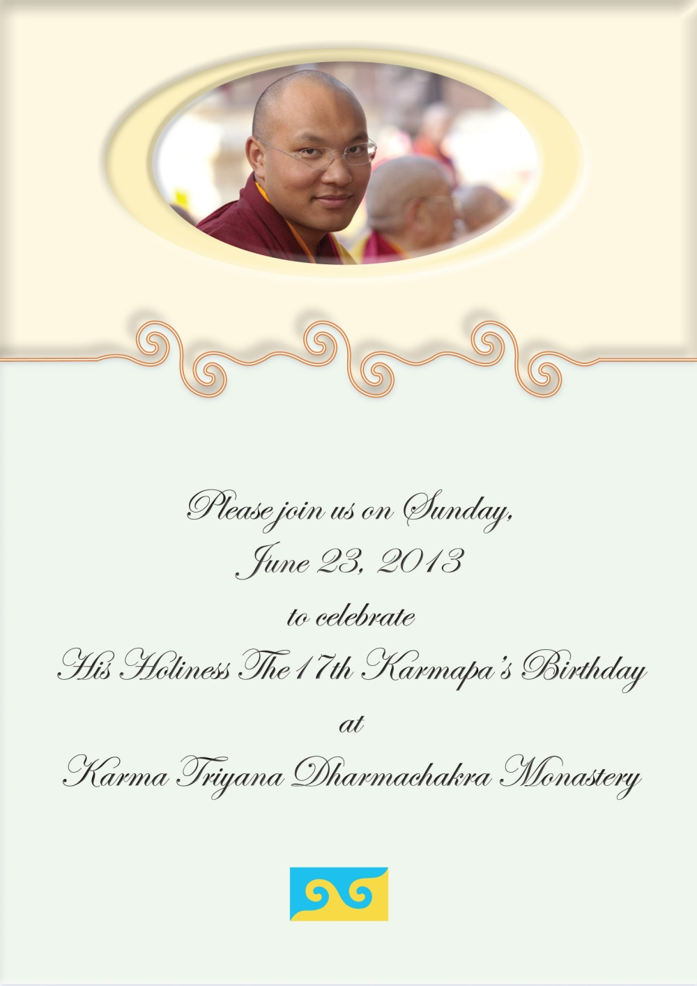 KTD 2013 Karmapa BD party invitation-1