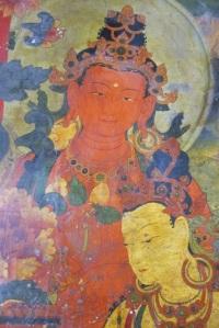 Mural, Takten Phuntsok Ling Monastery