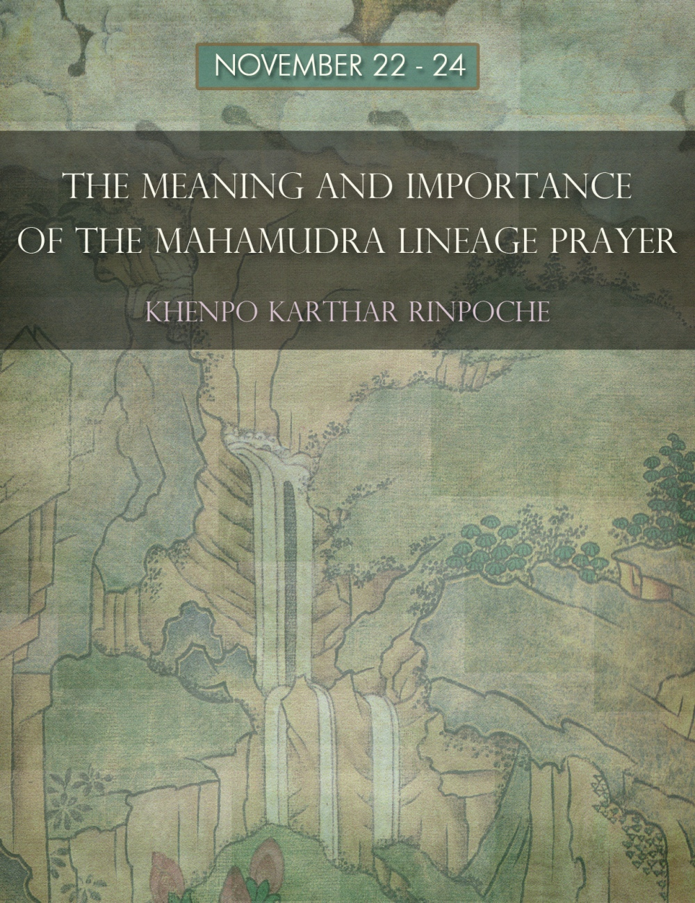 meaning and imp of maha lineage prayer
