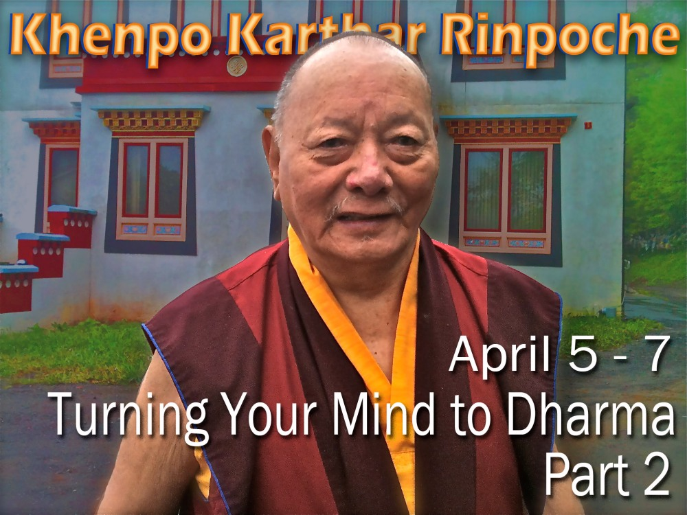Turning your mind to dharmapart2