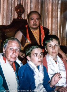 The Erlewines and H. E. Gyalsap Rinpoche