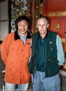 Michael Erlewine and Ngodrup Burkhar