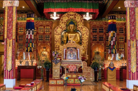 Years of hard work by hundreds of people made Karma Triyana Dharmachakra Monastery a reality. Today it offers teachings and empowerments all year long.