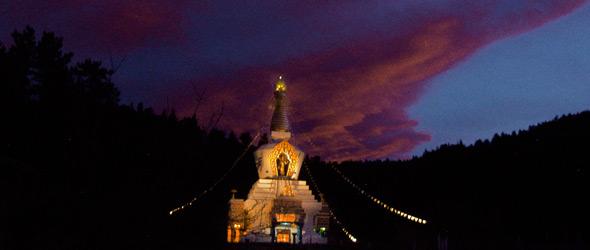 The Great Stupa of Dharmakaya, shambhala.org