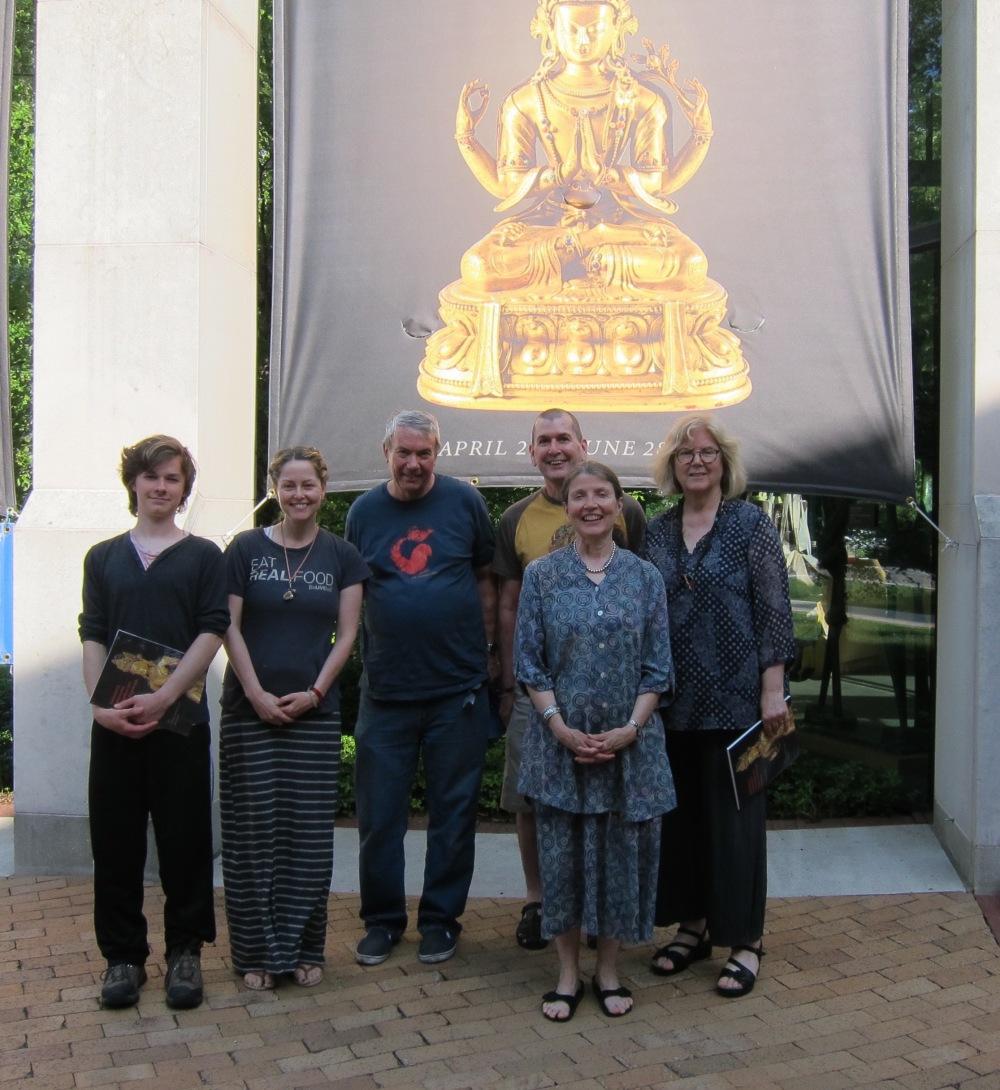 Another KTD group visit, including David Kaczynski, Anne Hulett, and Kay Larson.