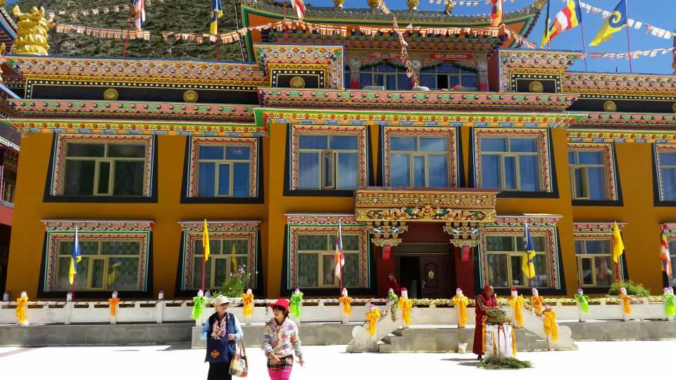 Lama House, Thrangu Monastery.