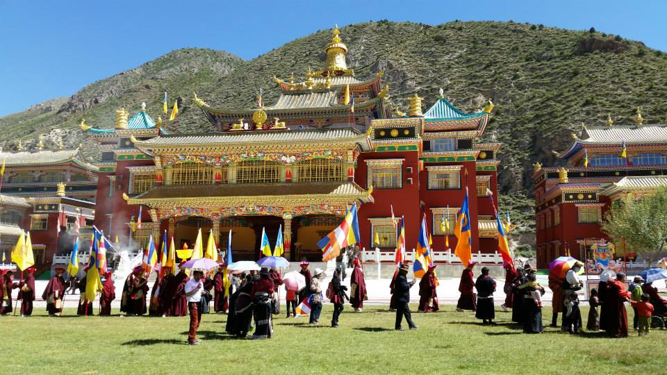 Preparations at Thrangu Monastery