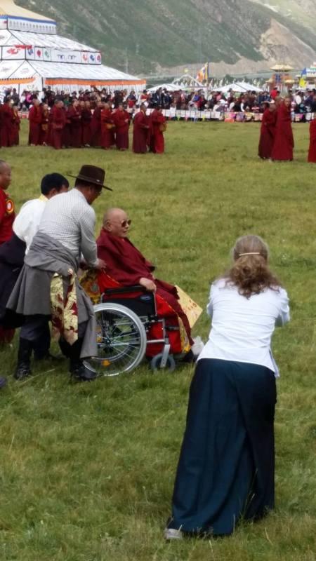Khenpo Karthar Rinpoche.